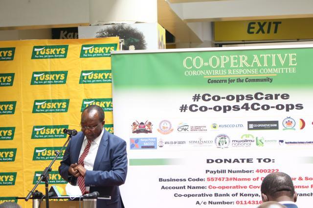 Co-Operative Coronavirus Response Committee (Ccrc) Launch